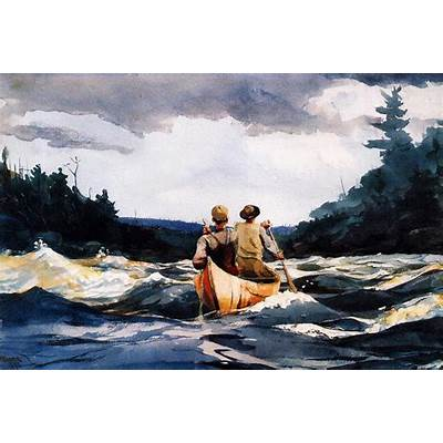 American Artist Winslow Homer: Some Fishing and Boating