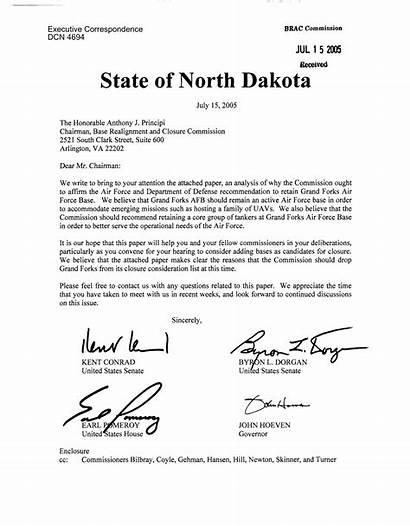 Letter Cc Correspondence Library John Chairman Dakota