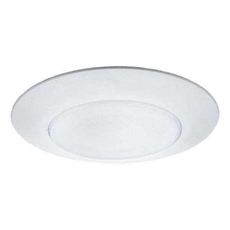 Shower Lights Lowes by Shop Sea Gull Lighting White Shower Recessed Light Trim