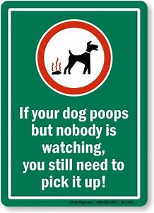 12 best Sign for dog poop pick up images on Pinterest ...