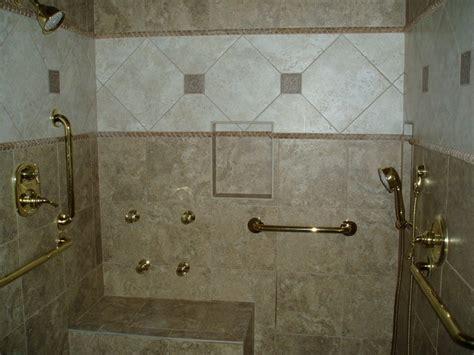 handicap shower traditional bathroom nashville