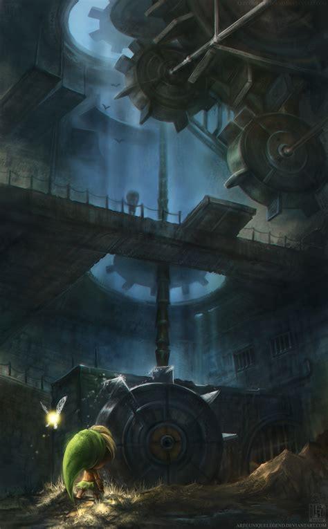 Majoras Mask The Clockworks By Eternalegend