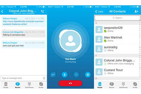 skype for iphone skype for iphone to get major update redesigned from