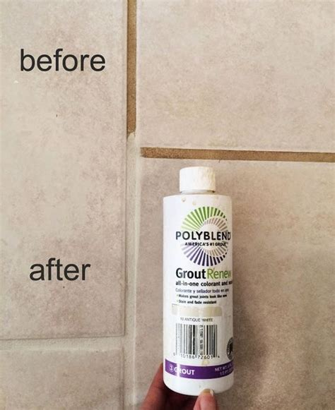 make grout look new and seal it in one step bathroom