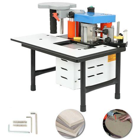 portable double glue woodworking edge banding machine edge bander  mm  ebay