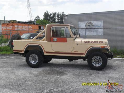 cj8 jeep 1983 cj8 scrambler jeep