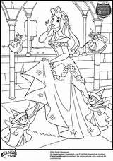 Aurora Coloring Princess Pages Disney Colors sketch template