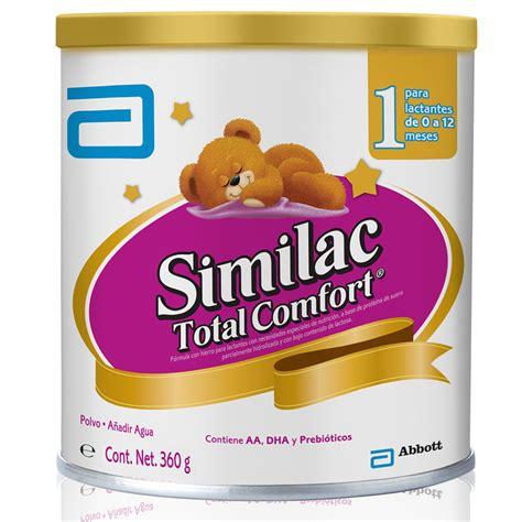 similac total comfort leche similac total comfort ha1 360 g lata