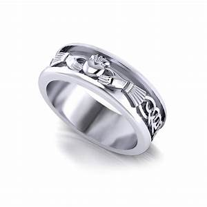 Men39s Claddagh Wedding Ring Jewelry Designs