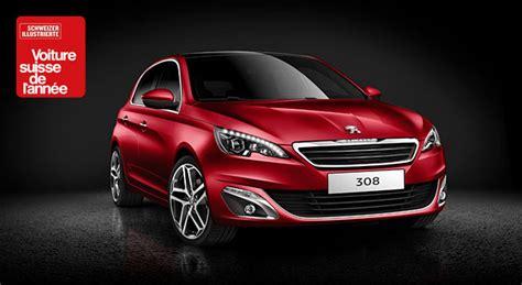 La Peugeot 308, Voiture De L'année 2014 En Suisse ?