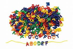 Colorationsr big letter beads 300 pieces for Big letter beads