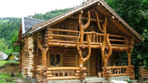 Wooden Houses : Cabin Wood And Log Design Ideas-amazing Wood