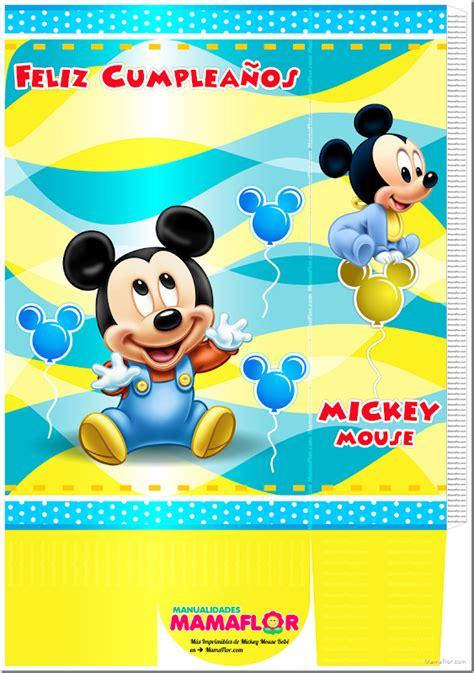 De Bebe Mickey Mouse Moldes