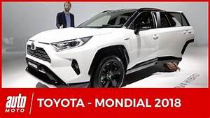 Nouveauté Toyota 2018 : mondial de l 39 auto 2018 toutes les nouveaut s toyota youtube ~ Medecine-chirurgie-esthetiques.com Avis de Voitures