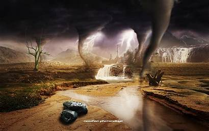 Storm Tornado Tornadoes Desktop Twister Background Attack