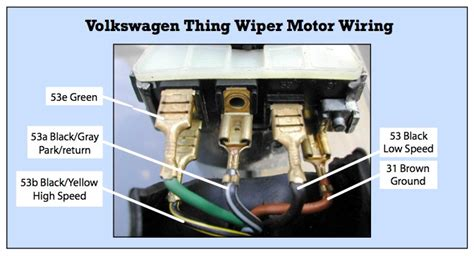 wiring diagram wiper motor impremedia net