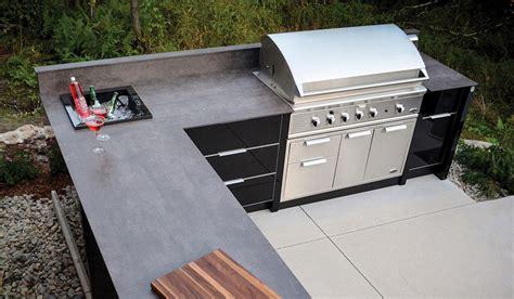 cuisine exterieur inox cuisines ext 233 rieures et cuisines d 233 t 233 sur mesure station grill
