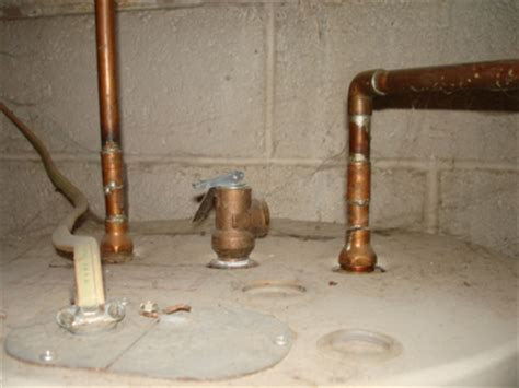 Water Heater Leaking From Top Pipe Castrophotos