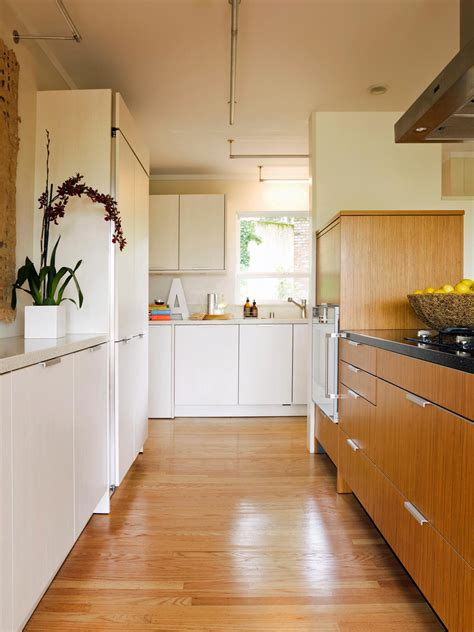 one wall kitchen with island designs corner kitchen cabinets pictures ideas tips from hgtv
