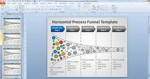 Free Horizontal Process Funnel Powerpoint Template