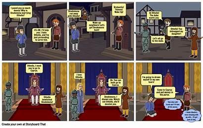 Othello Act Storyboard Scene Windows