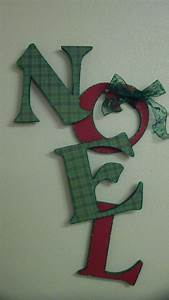1000 images about noel wooden letters on pinterest diy With wooden letters for christmas tree