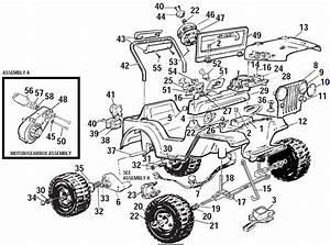 Power Wheels Lil Sand Blaster Parts