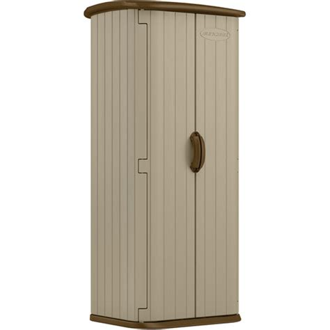 suncast garden shed taupe suncast 20 cu ft storage shed taupe walmart