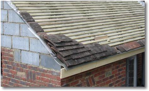 roof tile roof tile overhang into gutter