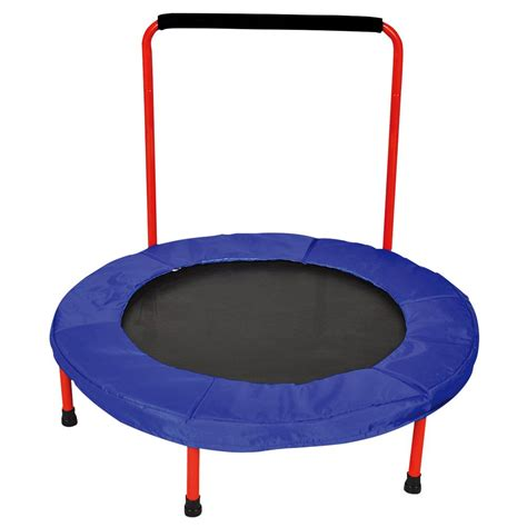 small rubber caps 36 inch troline with handle creative kidstuff