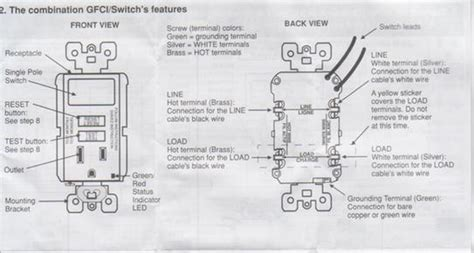 Wiring Leviton Switch Gfi Outlet Combo Doityourself