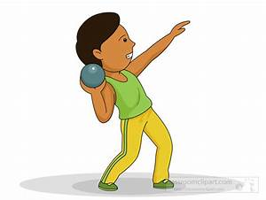 Track and Field Clipart : shot-put-track-field-131 ...