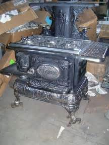 Antique Wood-Burning Stove