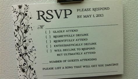 cheap wedding invitation photo this is the best wedding rsvp card we ve seen