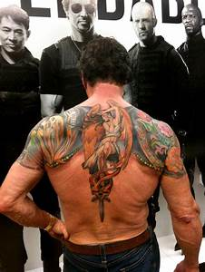 LION CITY TATTOO: Flying the Flag: Sylvester Stallone