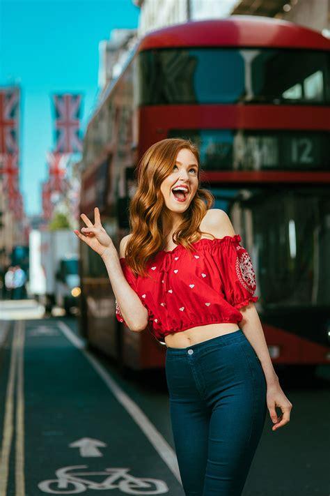 photo shoot  actress maggie geha london richard