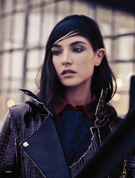 Jacquelyn Jablonski Dons Sleek Style For Exit Magazine F W