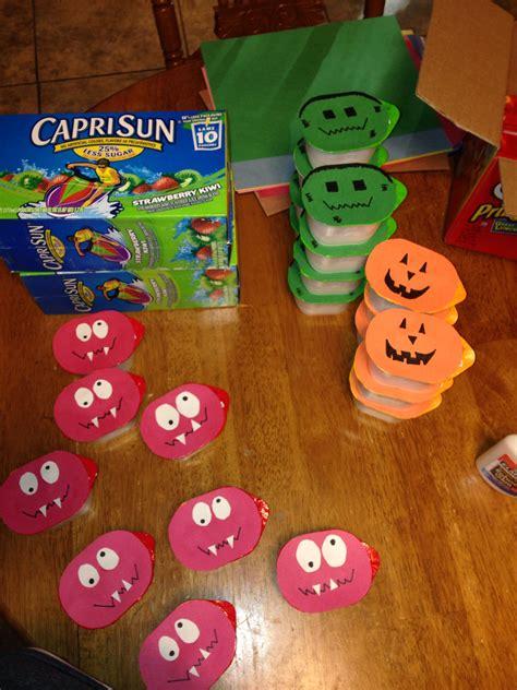 halloween party for preschoolers casen s preschool snacks individual pringles 388