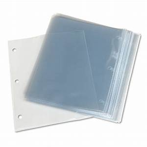top load poly 3 hole punched sheet protectors by avery With document protectors