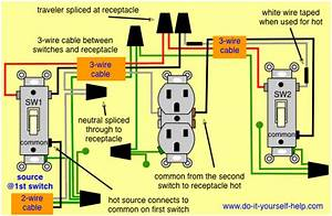 3 Way Receptacle Wiring Diagram