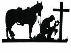 Image result for free cowboy and horse praying for cricut ...