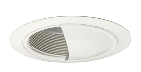 juno lighting 213g3w wh 5 quot white baffle with white wall