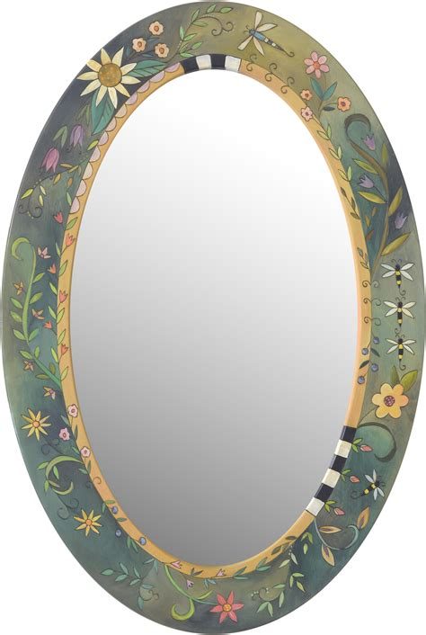It's such a staple item to have, so why not this diy upcycled white mirror frame is a quick and easy makeover that you can complete in just a. Oval mirror | Oval mirror, Mirror painting, Painted picture frames