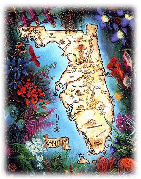 map  xanth piers anthony nostalgia pinterest
