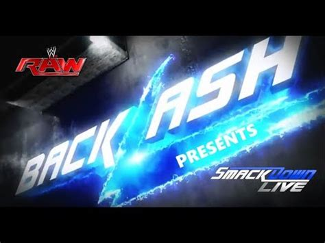 Maybe you would like to learn more about one of these? WWE Backlash 2018 Match Card Predictions [Championship ...
