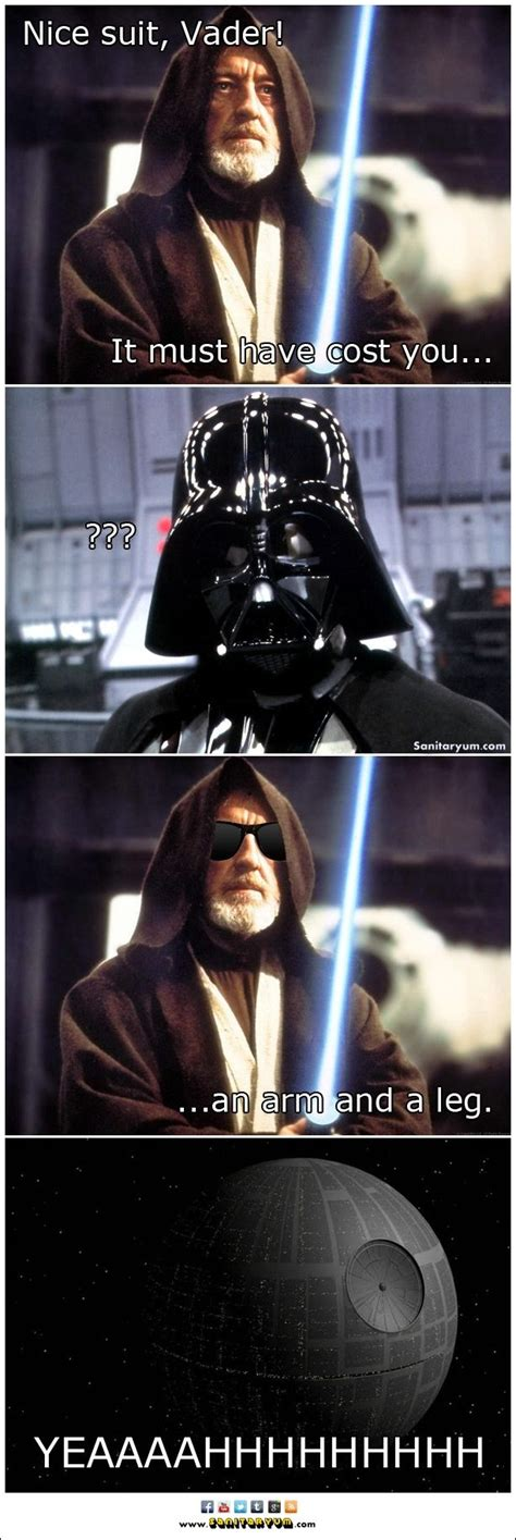 Funny Star Wars Memes - funny star wars nerdiness on pinterest funny star wars darth vader