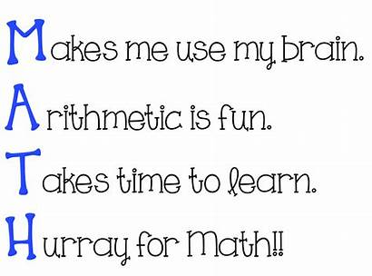 Acrostic Math Poem Poems Poetry Words Clipart