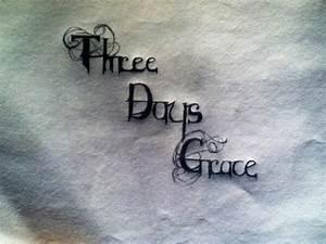 Three Days Grace logo by thegreatmanf on deviantART