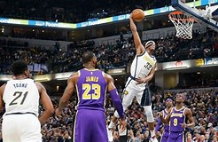 Image result for Lakers vs. Pacers