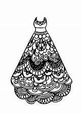 Coloring Printable Lace Colouring Barbie Gown Ball Winter Printables Makeup Olds 4kids sketch template